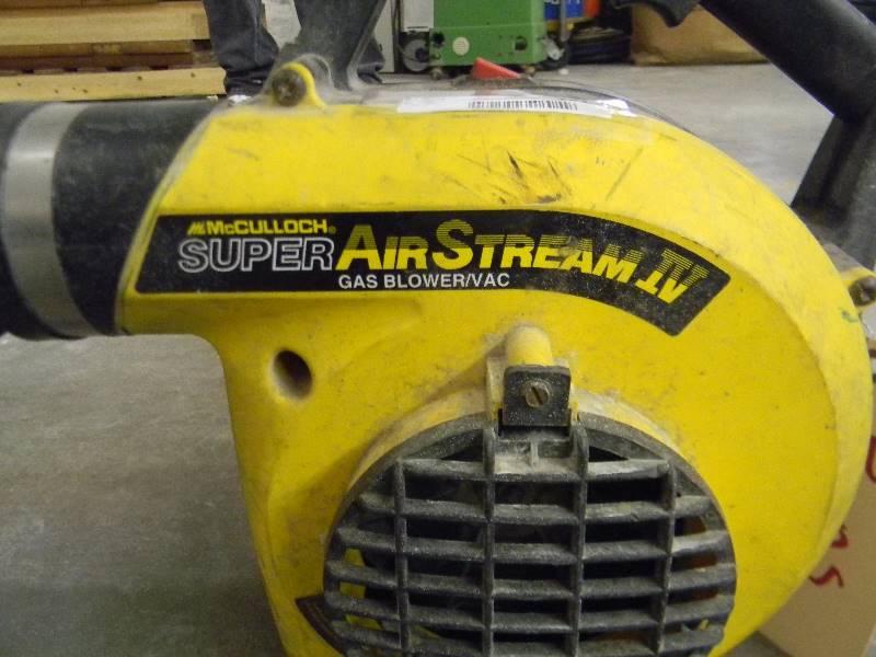 mcculloch super airstream iv blower vac manual