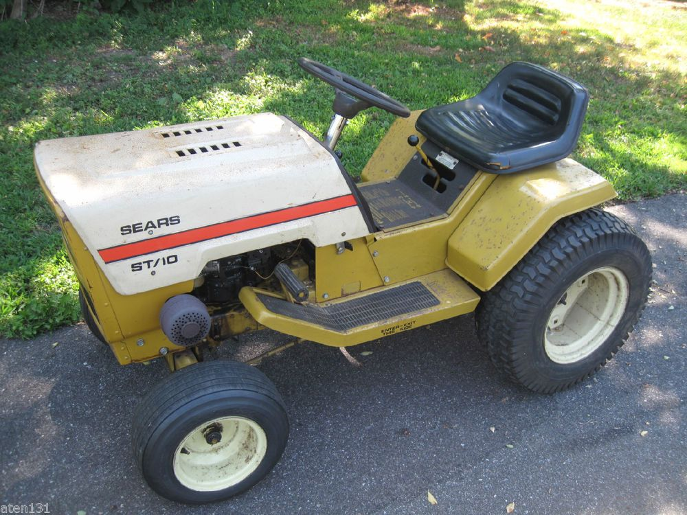 old sears riding mowers manuals