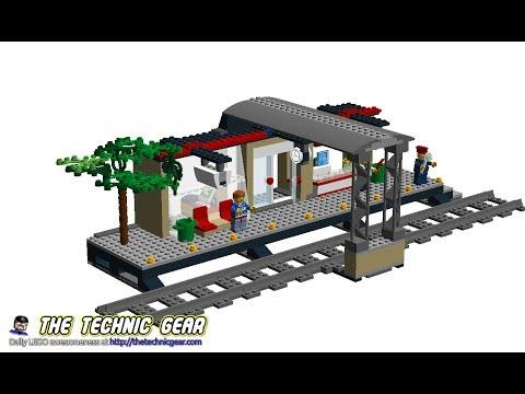lego train station 60050 instructions