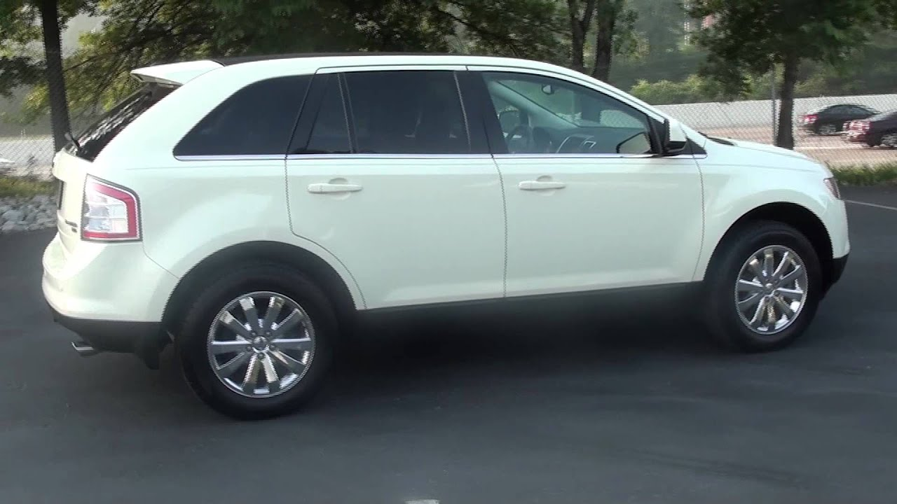 2008 ford edge limited manual