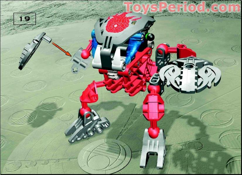 Lego bionicle building instructions