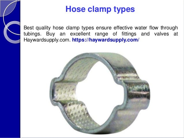 Types of hose clamps pdf