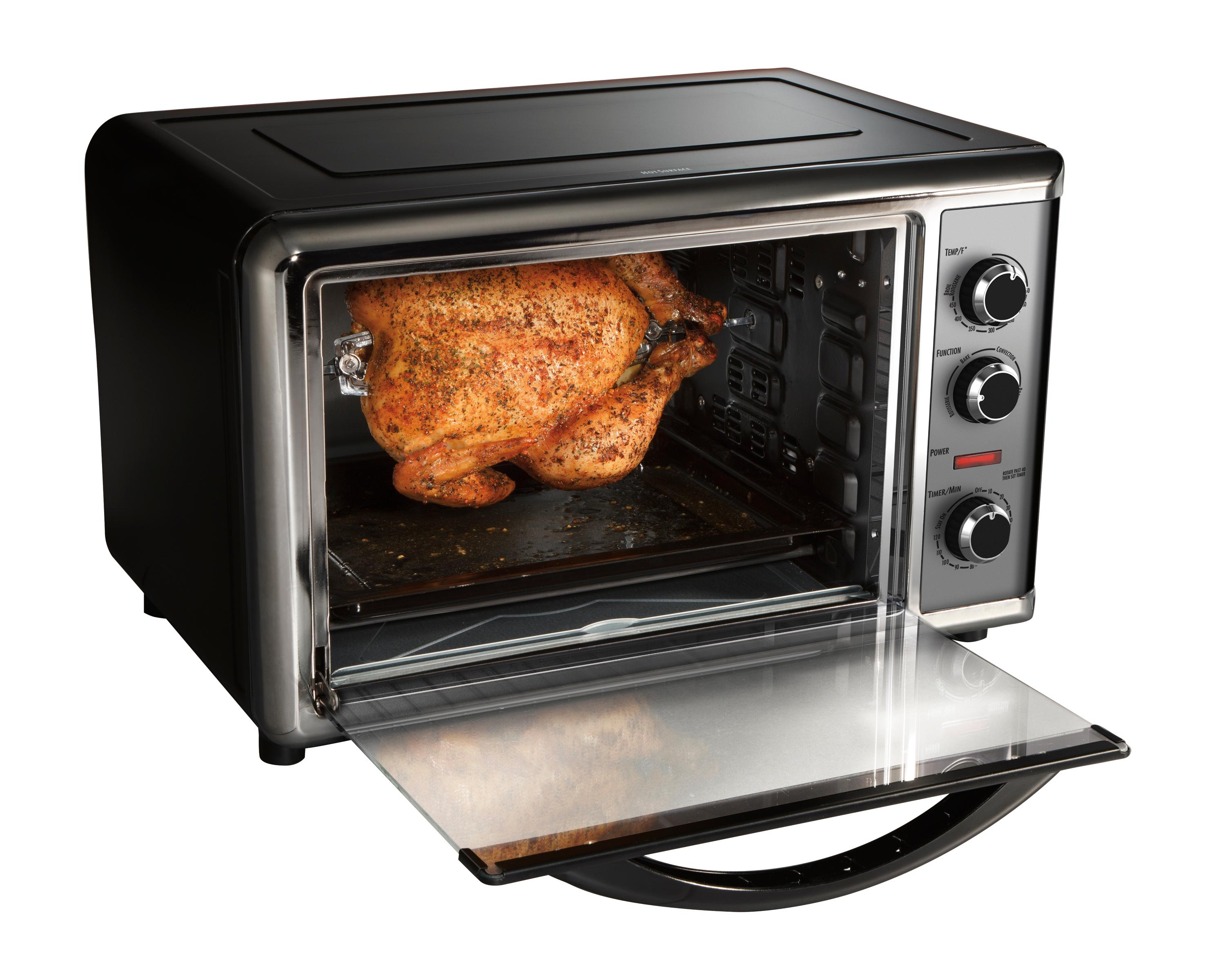 hamilton beach countertop oven with convection and rotisserie manual