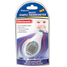 walgreens instant ear thermometer instructions
