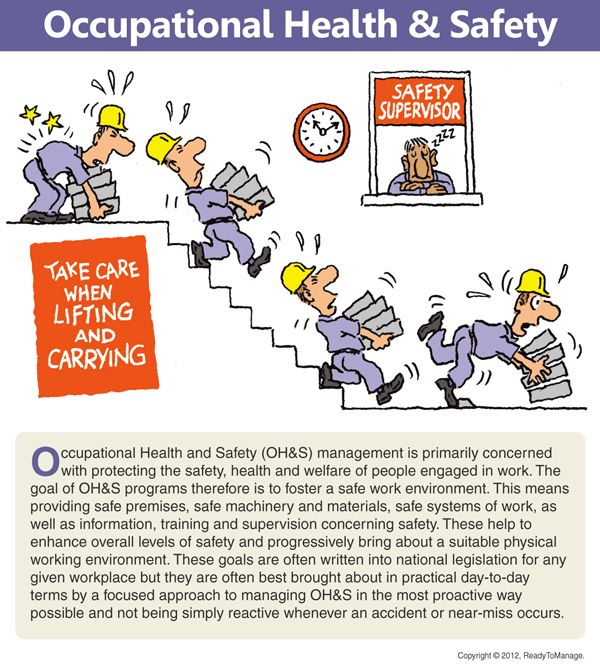 Occupational health and safety manual example