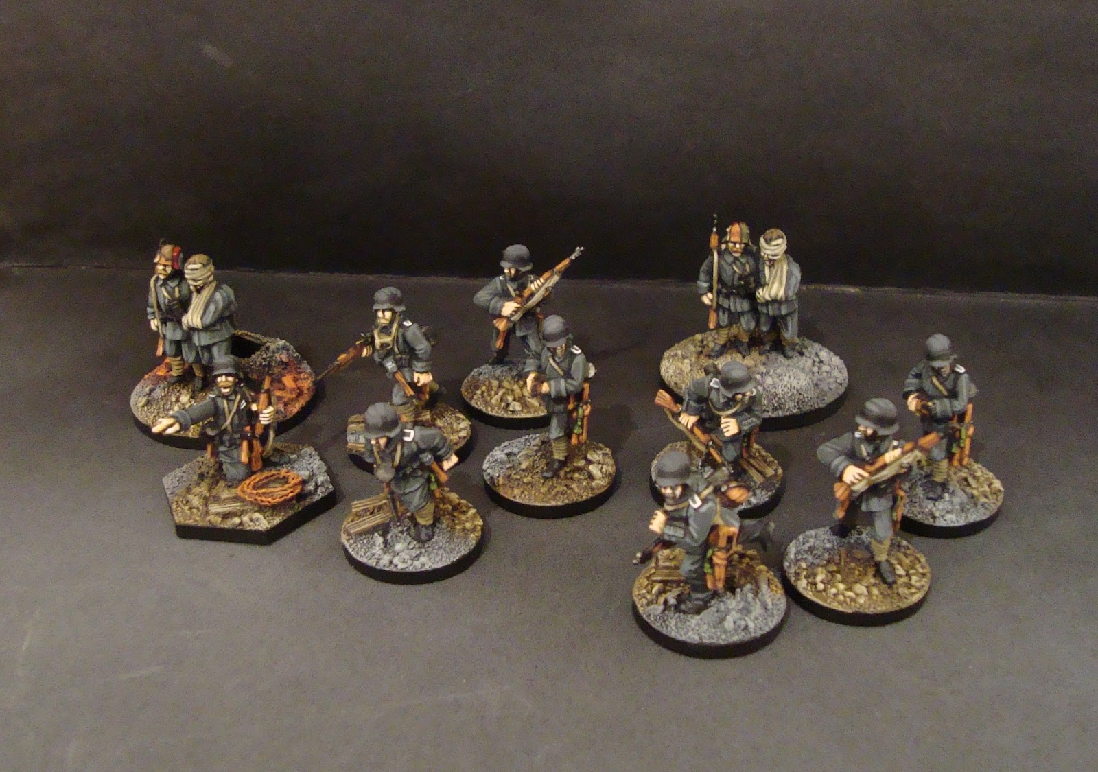Great war miniatures painting guide
