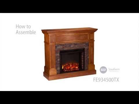 kingwood media fireplace assembly manual