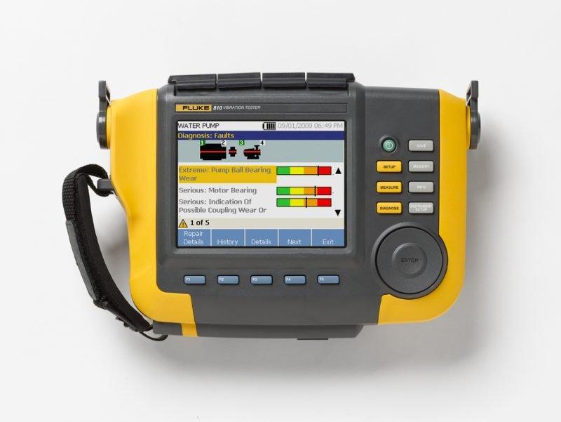 fluke 810 vibration tester user manual