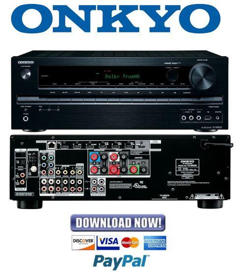 onkyo tx sr577 service manual