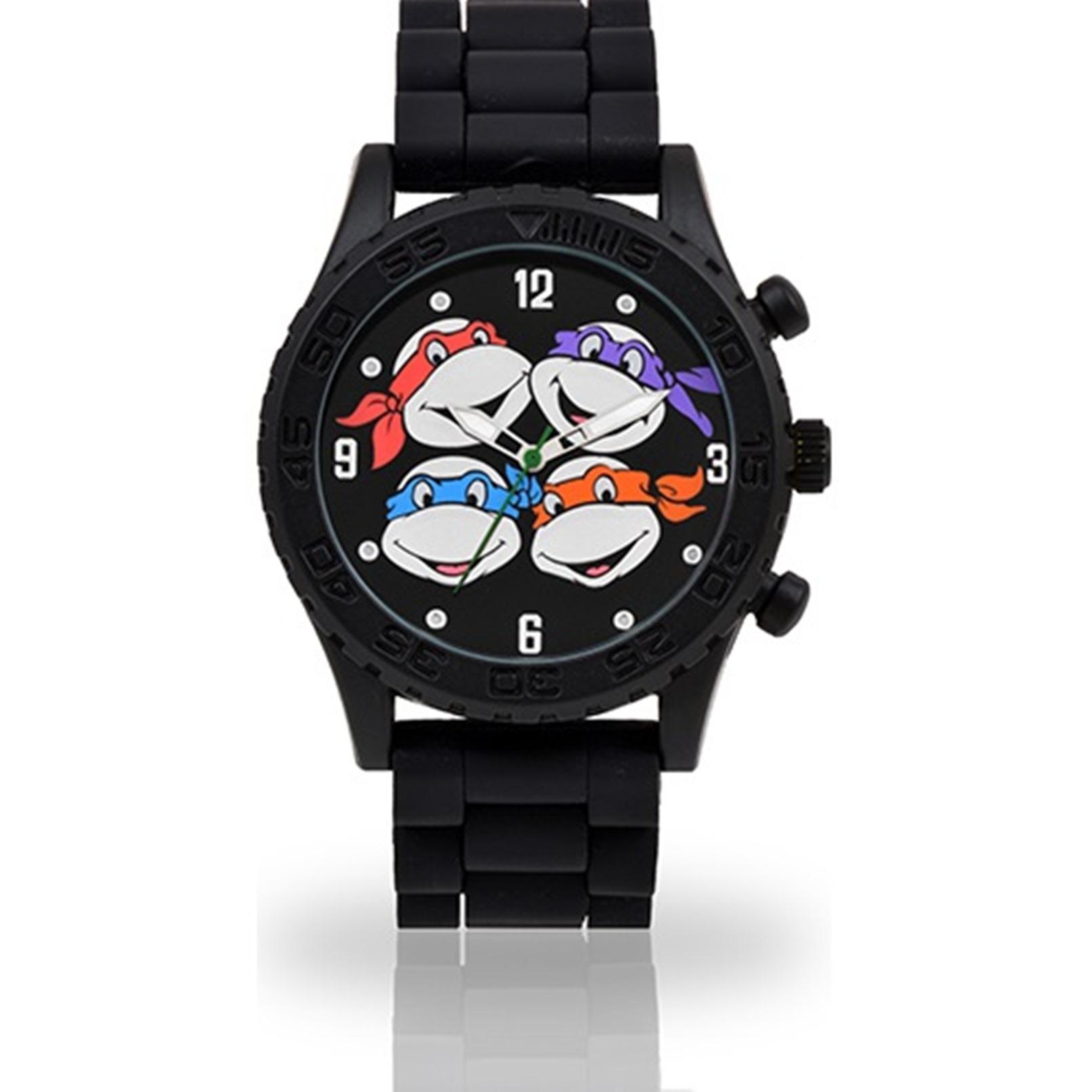 accutime ninja turtle watch instructions