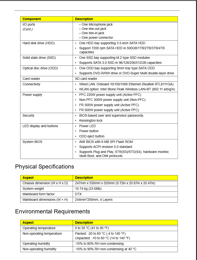 acer aspire tc-780 motherboard manual