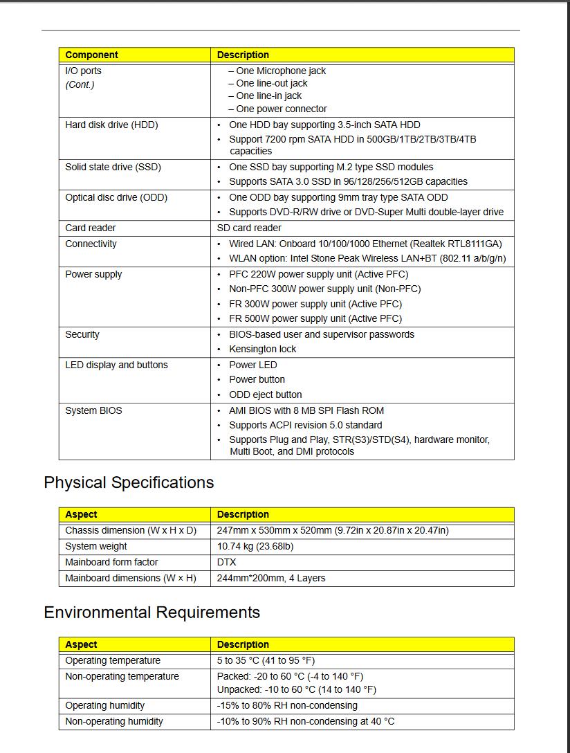 acer aspire tc-780 motherboard manual