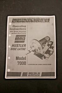 Ammco 3850 brake lathe manual pdf