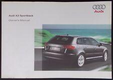 Audi a3 sportback manual pdf