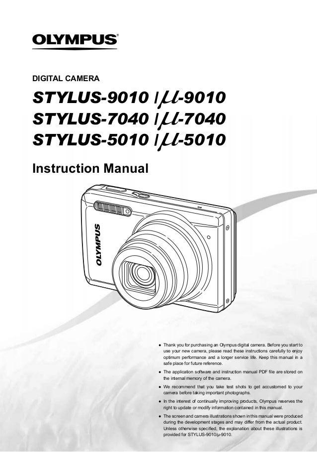 olympus mju 1 user manual