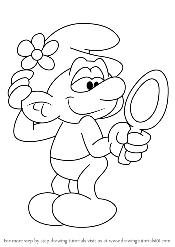 Smurfs the lost villge how to draw gargamells cat