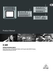 behringer x air xr18 manual