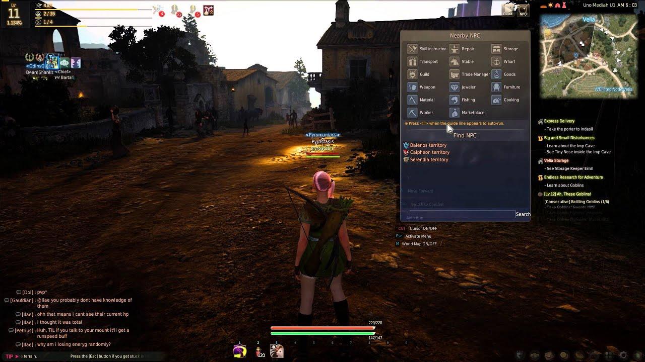 Black desert online how to find npc