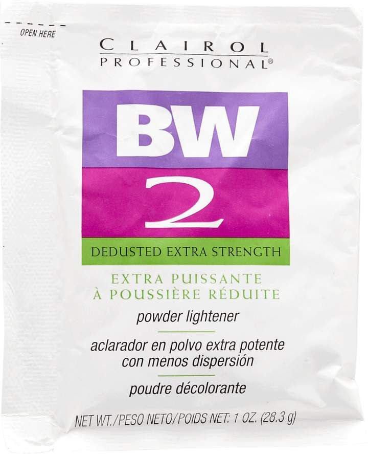 Bw2 powder bleach instructions