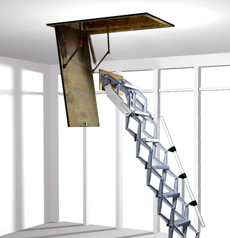 Alufix concertina loft ladder fitting instructions