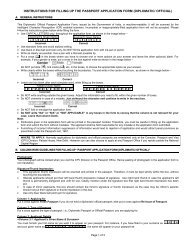 adult passport application instructions