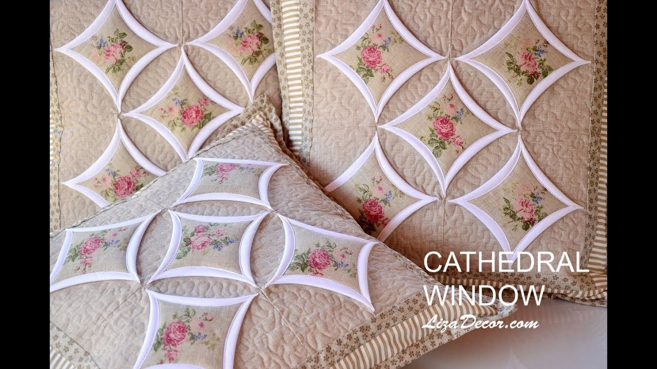 Cathedral window patchwork instructions