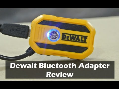 dewalt bluetooth radio adapter instructions