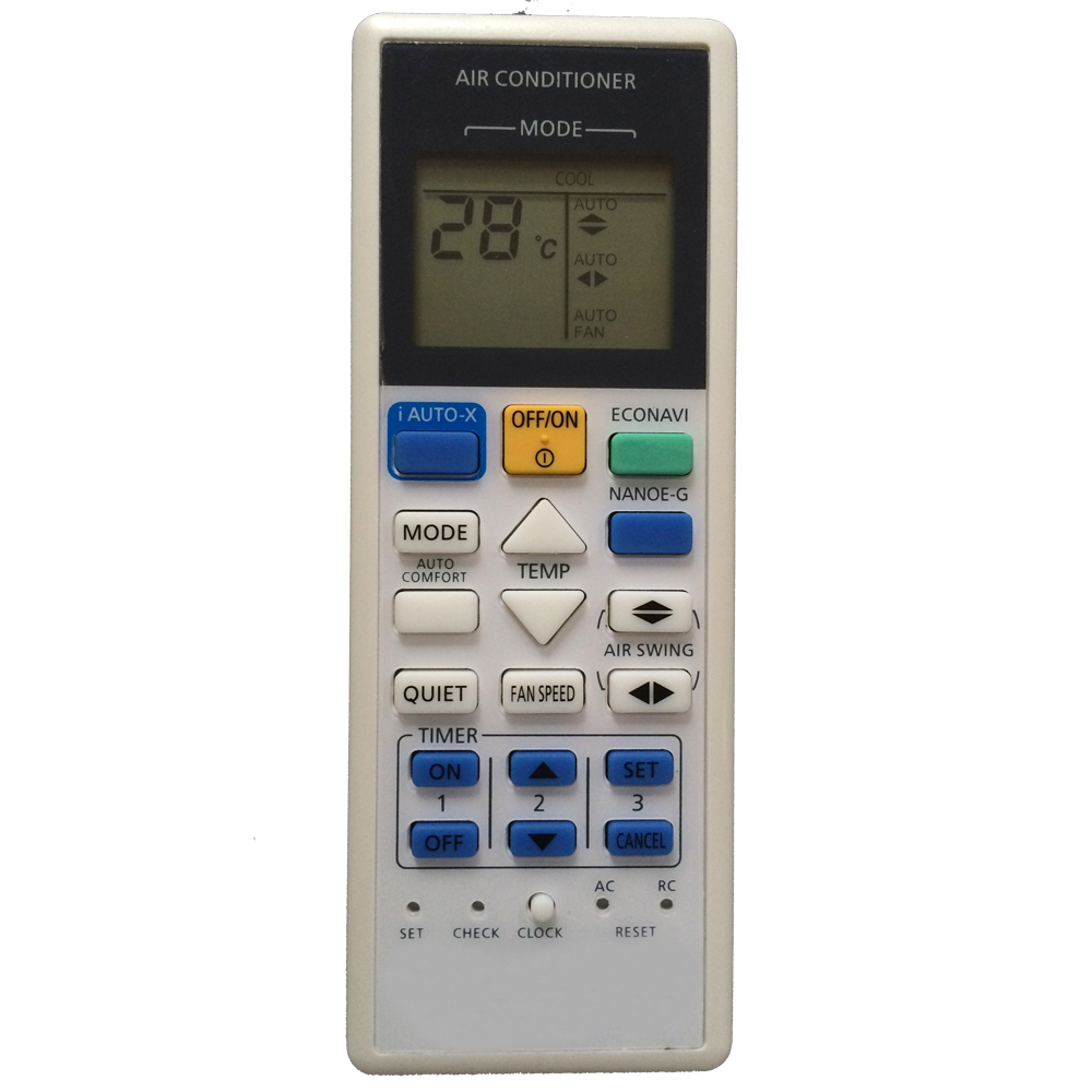 panasonic inverter remote control instructions