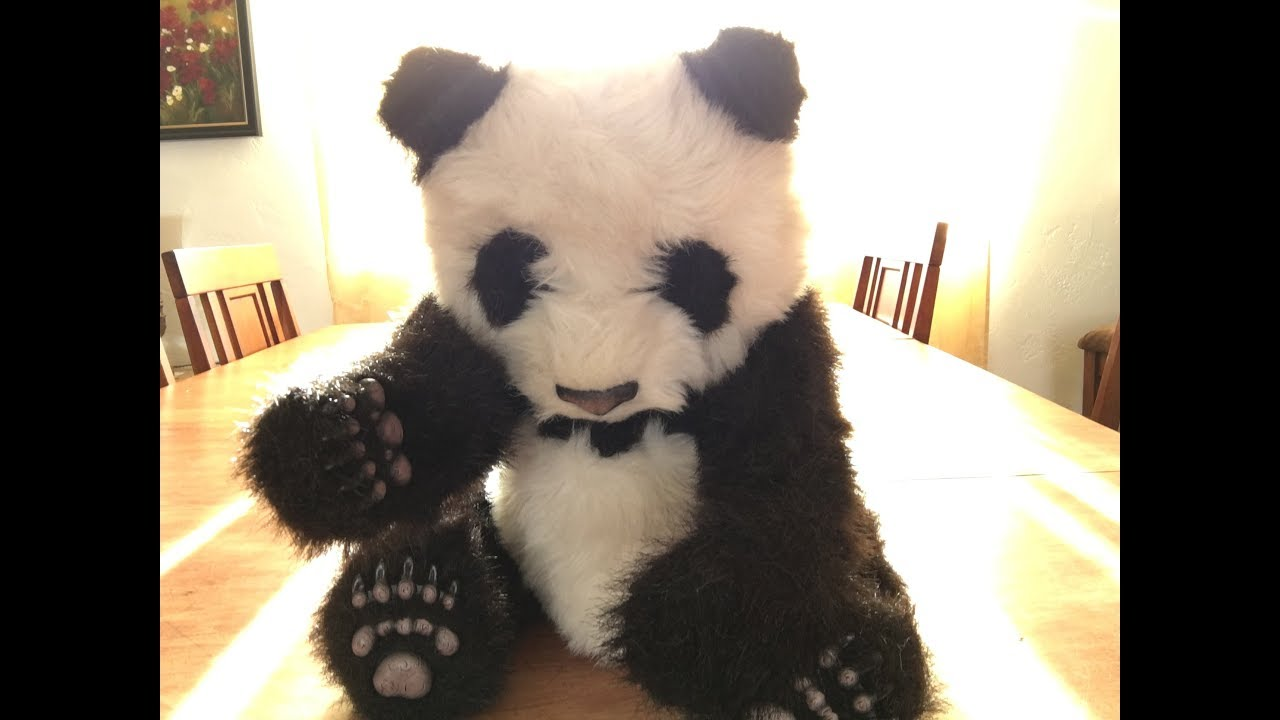 Furreal friends panda instructions
