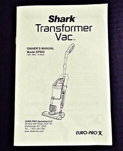 euro-pro vacuum cleaner manual