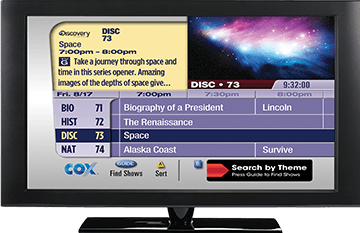 Cox cable pensacola tv guide