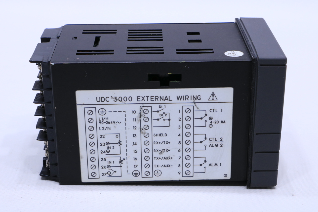 honeywell temperature controller udc 3000 manual