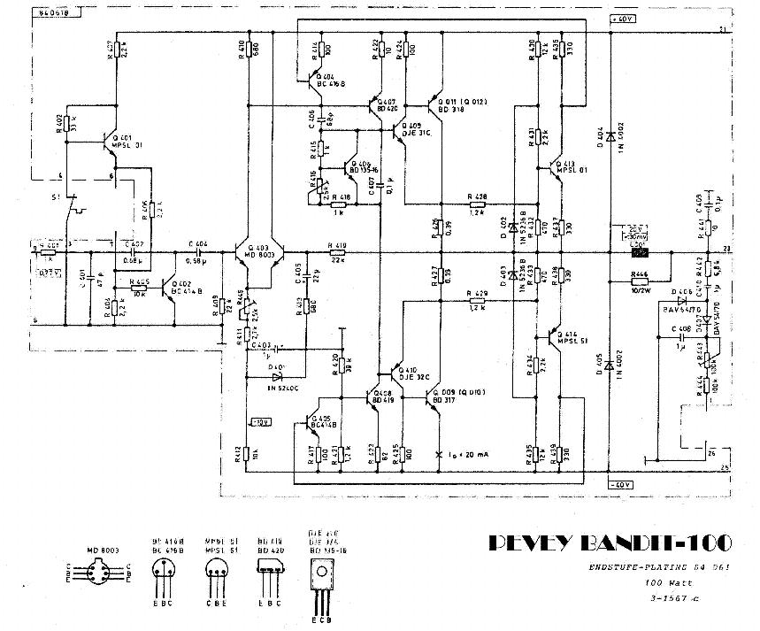 peavey prosys 112 service manual