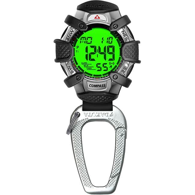 dakota tough compass clip watch instructions