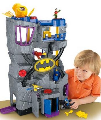 dc super friends batcave instructions