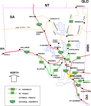Detailed map of australia pdf