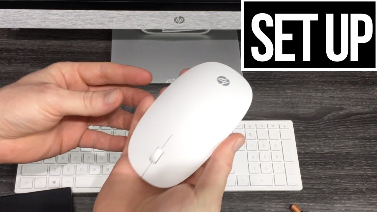 Hp wireless mouse how to connect