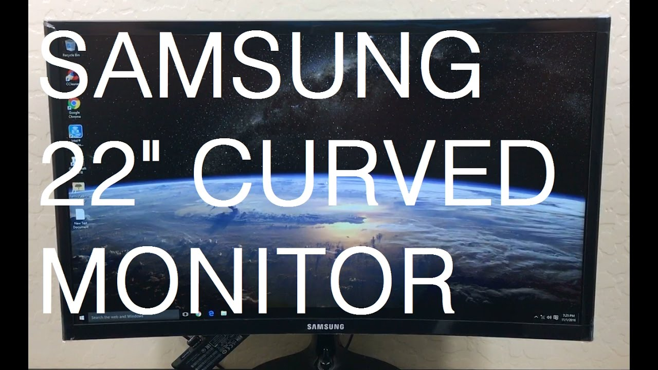 Essential curved monitor cf390 how to remove the stand