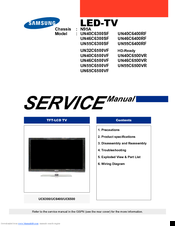 Samsung tv service menu manual