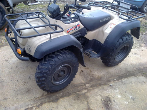 2001 suzuki king quad 300 owners manual