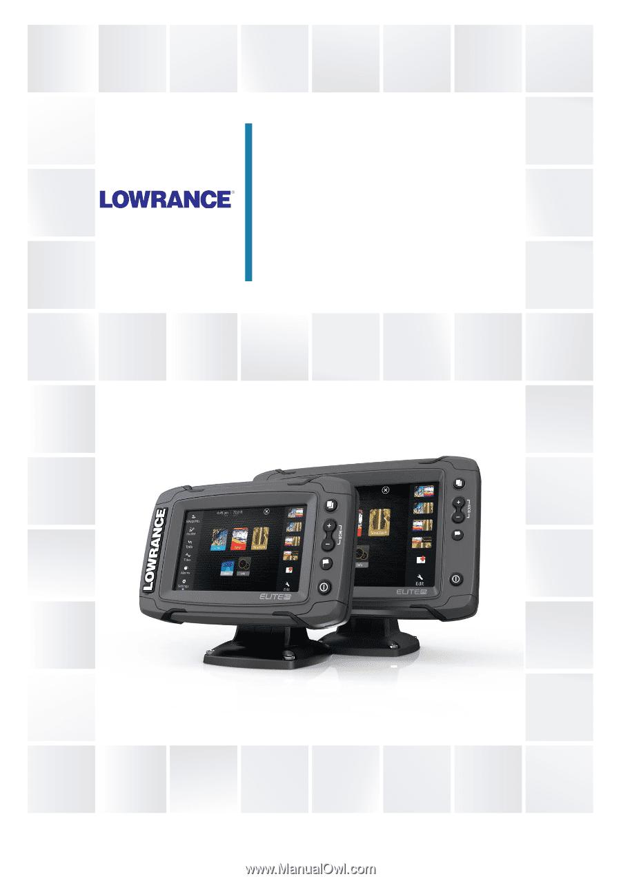 lowrance elite 7 installation instructions