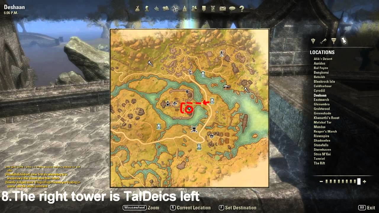 Eso how to get to deshaan