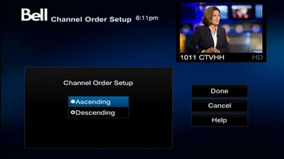 Bell satellite tv guide hd channels