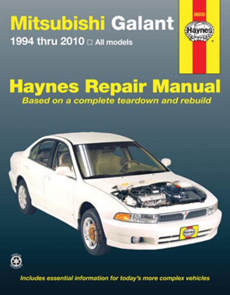 haynes repair manual mitsubishi lancer