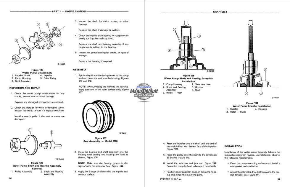 new holland tractor repair manual