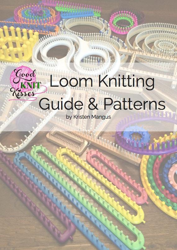 long loom knitting instructions patterns