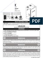 reliance 501 water heater manual