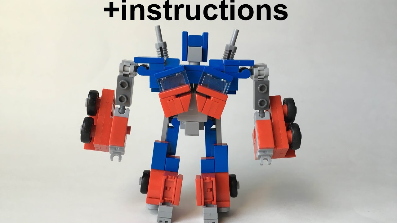 instructions for lego transformers