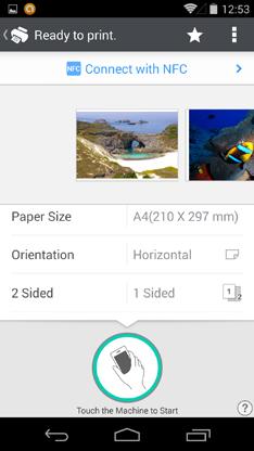 Ricoh smart device print