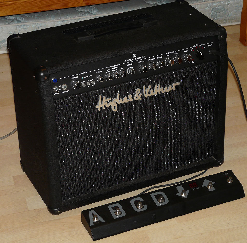 hughes and kettner switchblade 50 combo manual